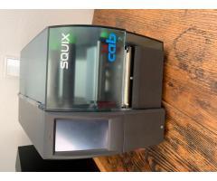 CAB SQUIX 4 - 600dpi - mit Aufroller zu verkaufen. Etikettendrucker / Thermotransfer