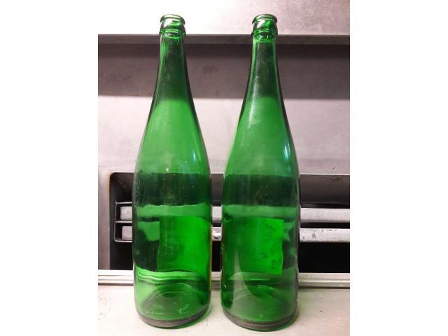 Rheinwein Flaschen 1,00 Liter grün Kronenkork