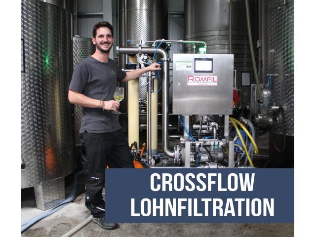 Mobile Crossflow Lohnfiltration