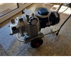 Regelbare Impellerpumpe Krenn MENC40/V, Impellerpumpe mit mechanischem Geschwindigkeitsvariator