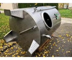 EDELSTAHLTANK - 1.800 Liter