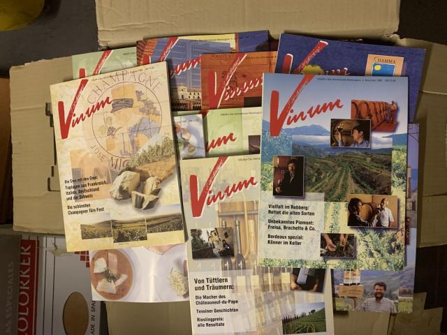 Zeitschrift -VINUM-